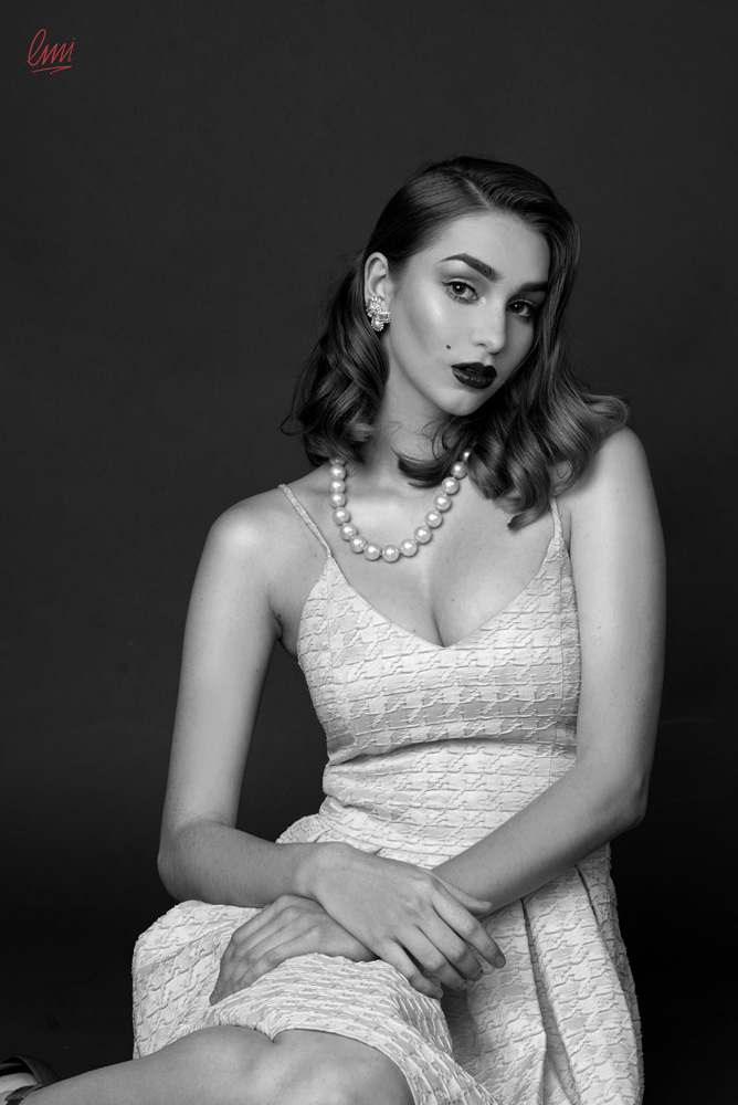 Photo: Iris Georgiadou Photography & Studio MUA: Dimitra Katsara Hair: Samvel Sarkisov Μodel: Christy Top Class Management