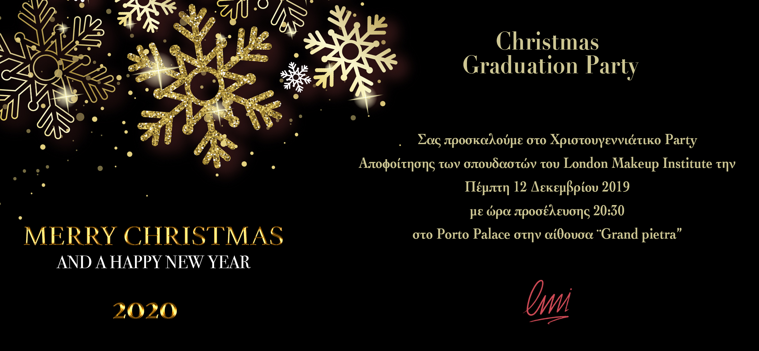 Christmas Graduation Party 2019